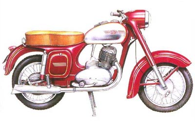 Kývačka: Jawa 250 typ 353