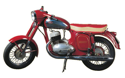 Jawa 350 typ 360 Panelka