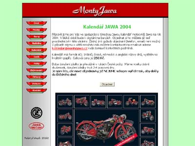 Montyjawa.cz v roce 2003